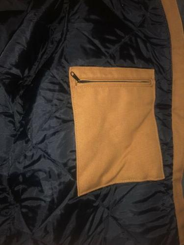 Duck Lined Jacket, Carhartt Brown XL REG