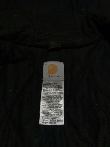Carhartt J130 Flannel Work Jacket L