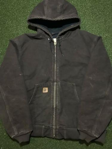 j130 sandstone quilted flannel lined active work