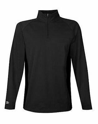 jacket men fleece pullover quarter zip performance