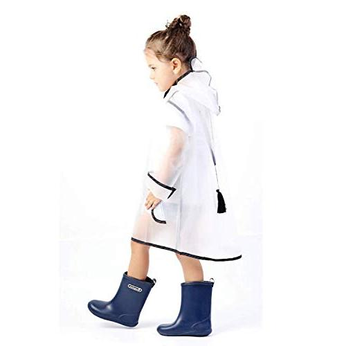 YOUNGER TREE Durable Portable Hooded for 1-10T Little Girls )