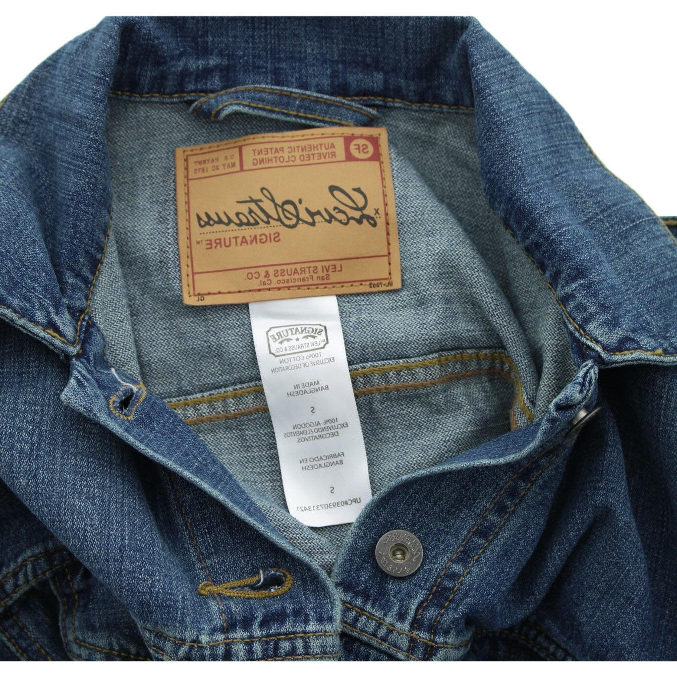 Levi's Jean Jackets, Strauss Signature Denim