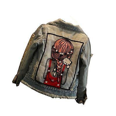 little big girls denim jackets coats outwear