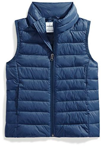 little girls lightweight water resistant packable puffer