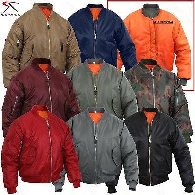 ma 1 military type flight jacket usaf