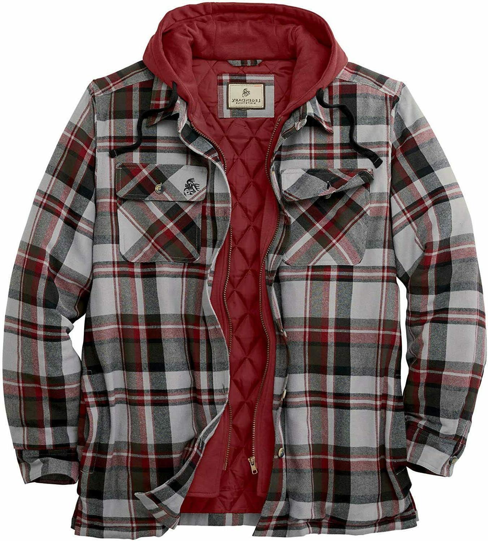 Legendary Whitetails Maplewood Shirt Jacket, 6 To Choose