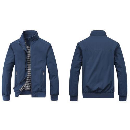 Men Leather Jacket Biker Jackets Coat