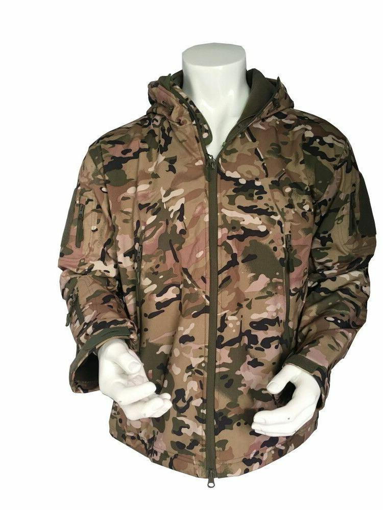 Men's Military Special Ops Softshell S-XXL GA010A