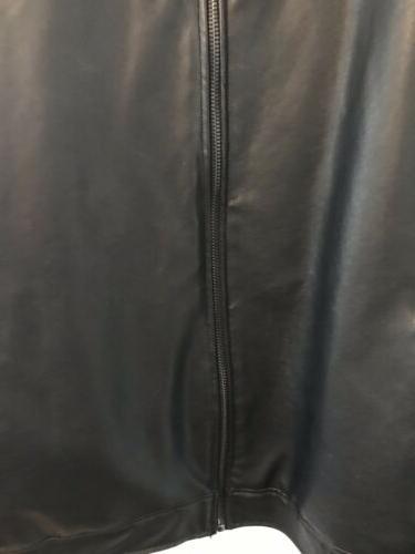 Men's Leather Coat/Jacket Claiborne Excellent Condition