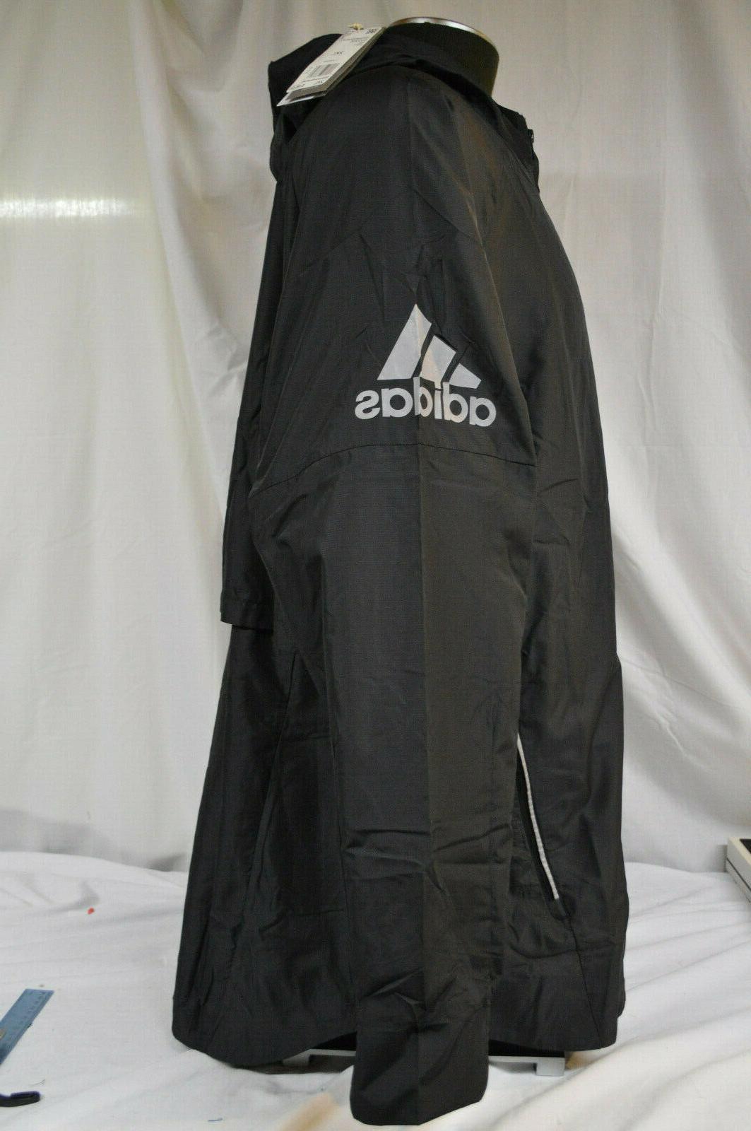 Adidas Black Hooded Jacket 2XL NWT