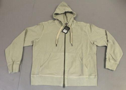 men s brushed loopback full zip jacket