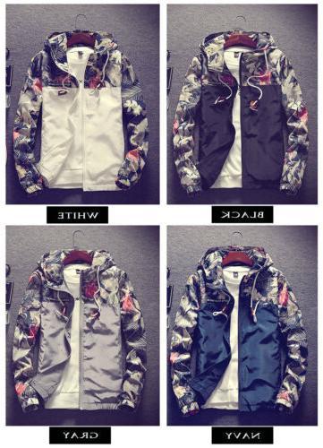 Men's Camo Loose Coat