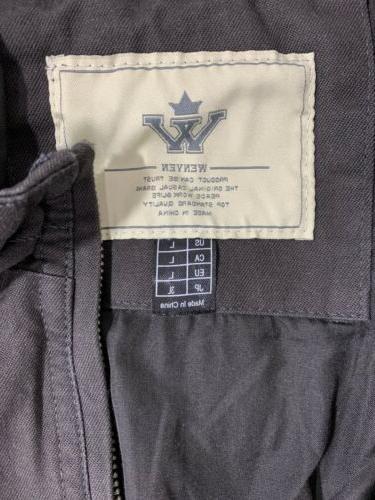 WenVen, Men's Cotton Charcoal - New