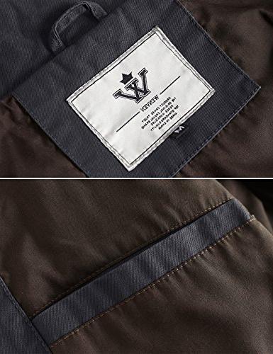 WenVen Cotton Military Jacket