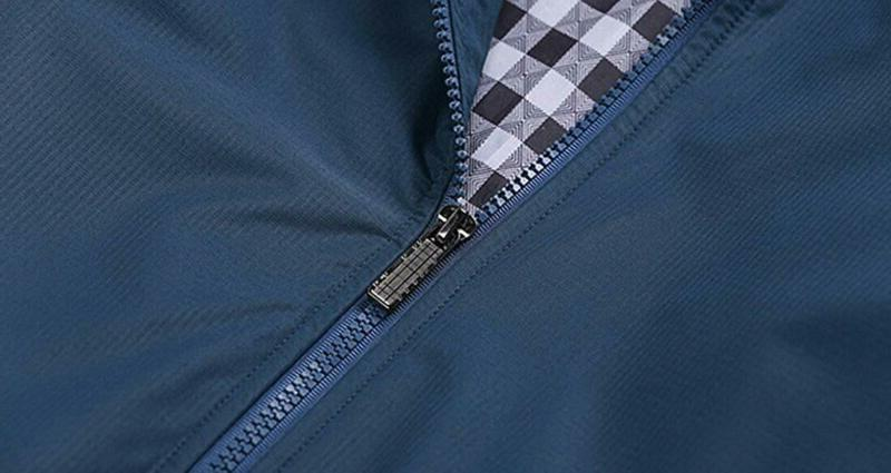 Springrain Casual Stand Sleeve Jacket