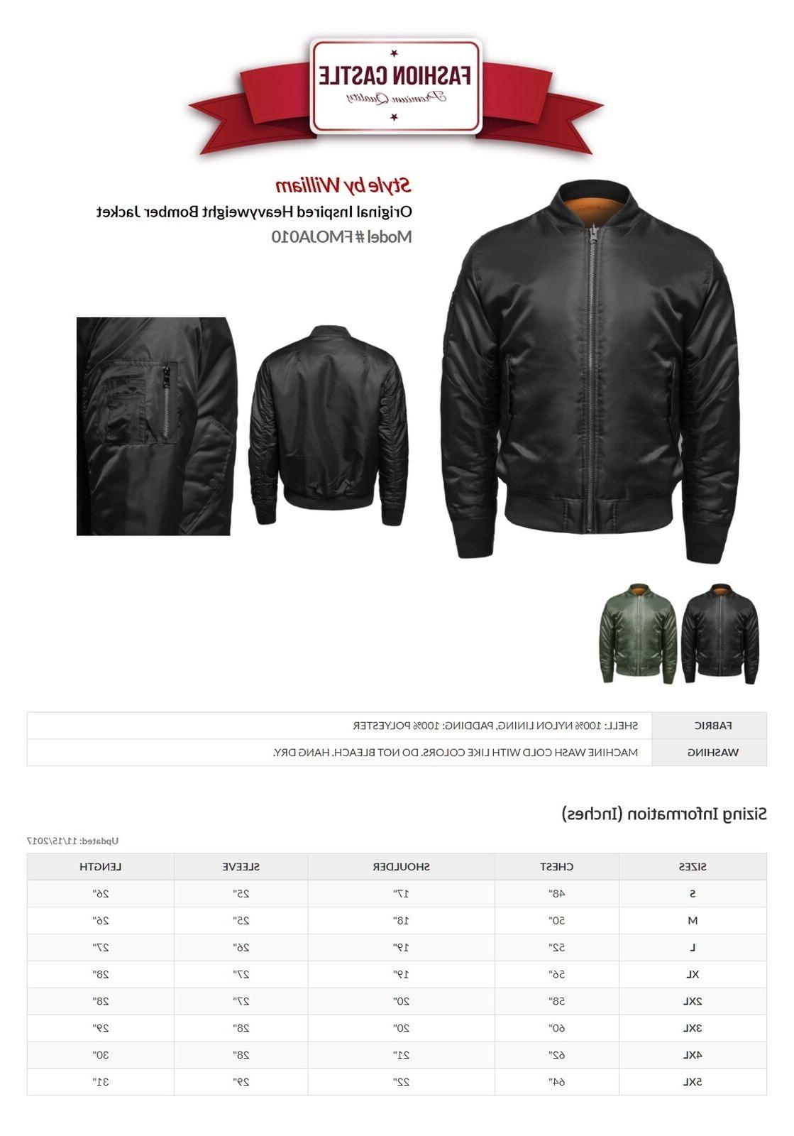 FashionOutfit Men's Classic Air Zipper Details Jacket