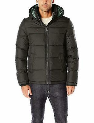 men s classic hooded puffer jacket