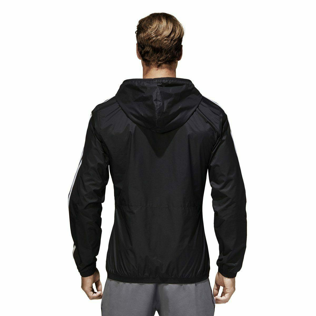 Wind Jacket Black / White BS2232