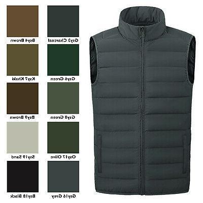 men s full zip warm outerwear packable