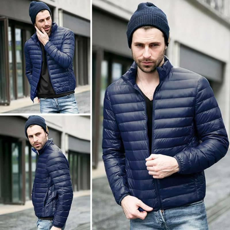 Men's Jacket Lightweight Puffer Coat