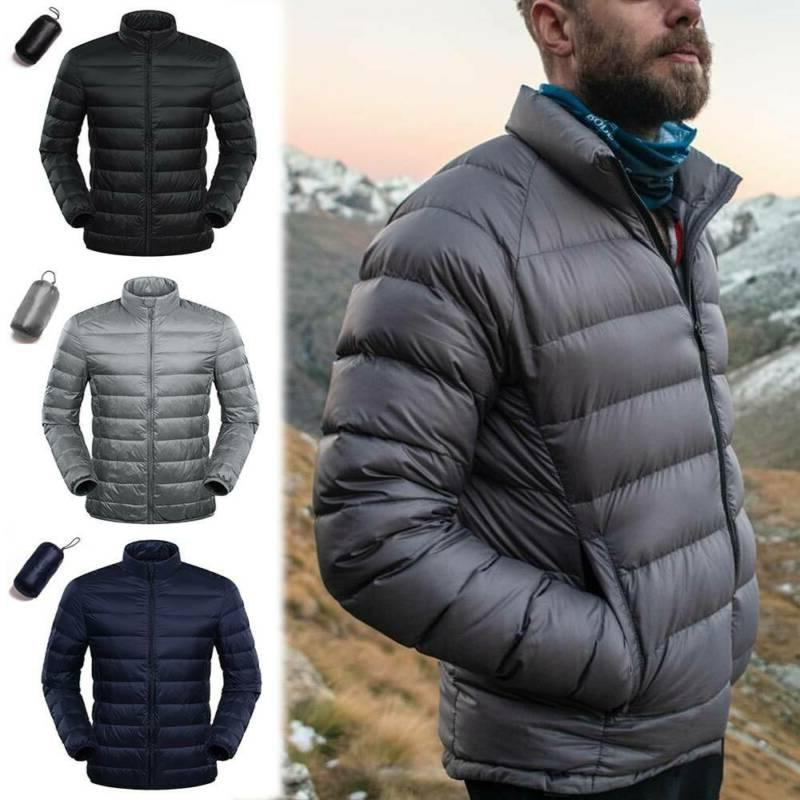 men s goose duck down jacket packable