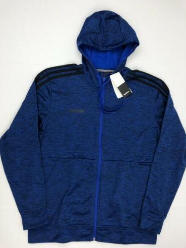 Adidas Men's  Hooded Jacket Tech Fleece Full Zip Climawarm B