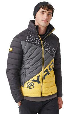 Superdry Men's Incline Quilt Fuji Jacket