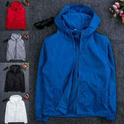 Men's Hooded Rain Coat