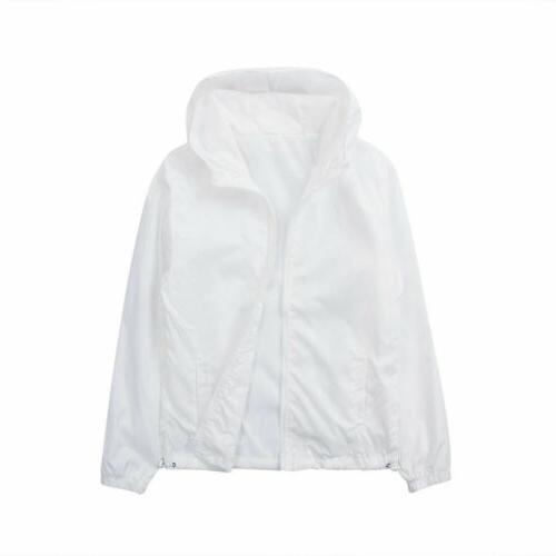 US Waterproof ZIPPER Jacket Sports Coat