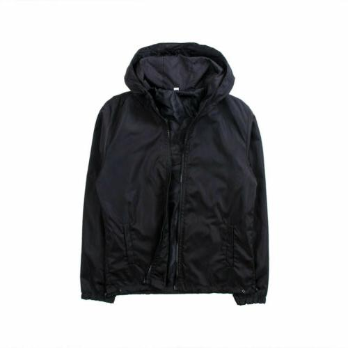 Men's Hooded Outdoor Rain Coat