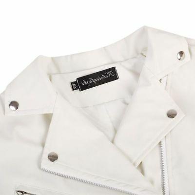 Men's Leisure Biker Jackets Coat Slim Fit Outwear