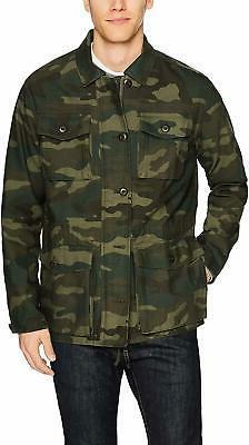 Goodthreads Men's Lightweight Military Jacket - Choose SZ/Co
