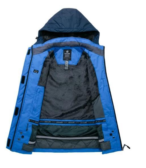 Wantdo Mountain Jacket Waterproof Winter Coat Army Size