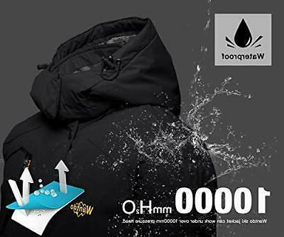 Wantdo Men's Mountain Ski Jacket Jacket Medium