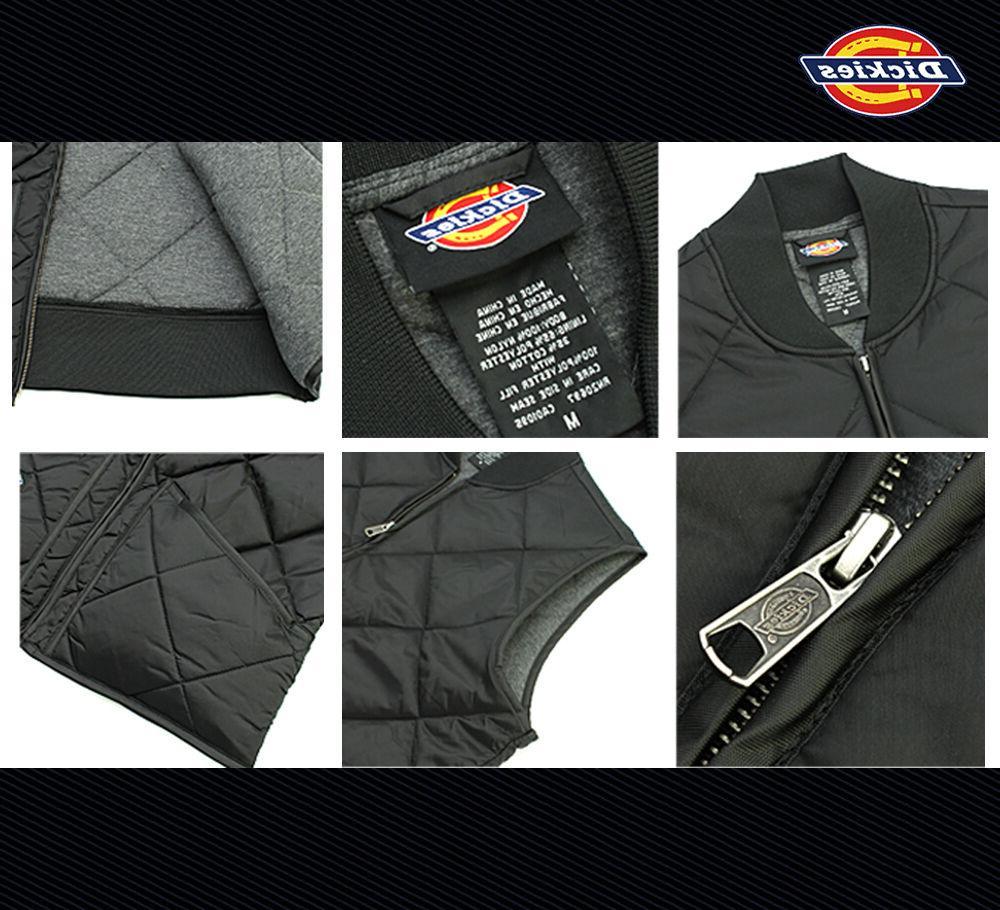 Dickies Men's Nylon Vest Jacket, Lightweight