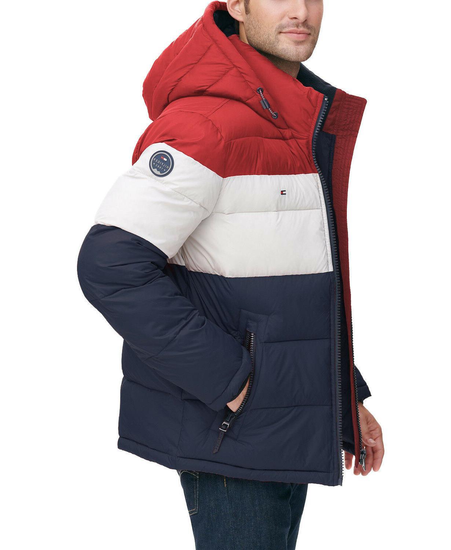 men s premium heavyweight micro fleece puffer