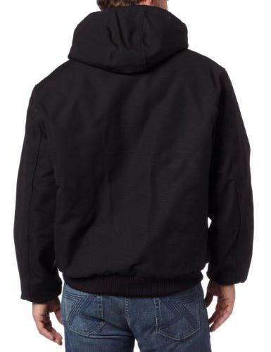 Carhartt Flannel Lined Active Jacket J140,Black,Large