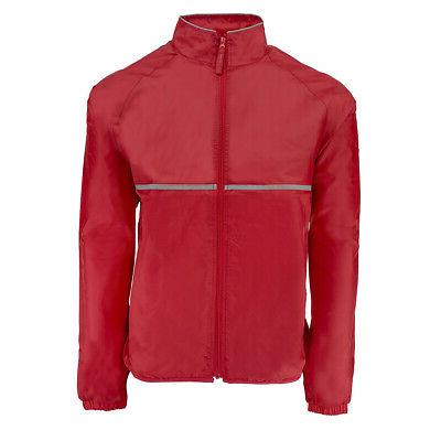men s relay jacket red m