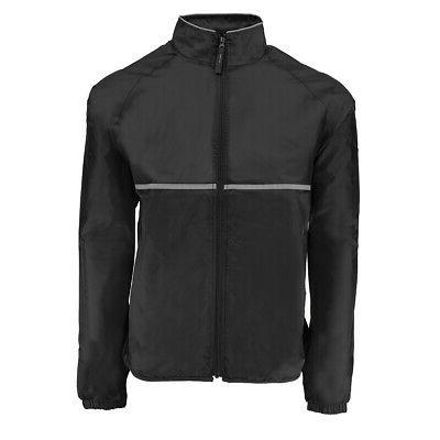 men s relay rain jacket black 2xl
