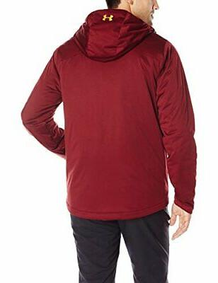 Under Armour ColdGear Infrared Jacket, Deep, Red, Size