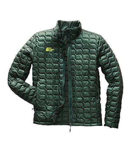 men s thermoball jacket botanical garden green
