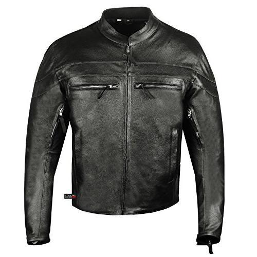 Men's Motorcycle Cruiser Armor Biker