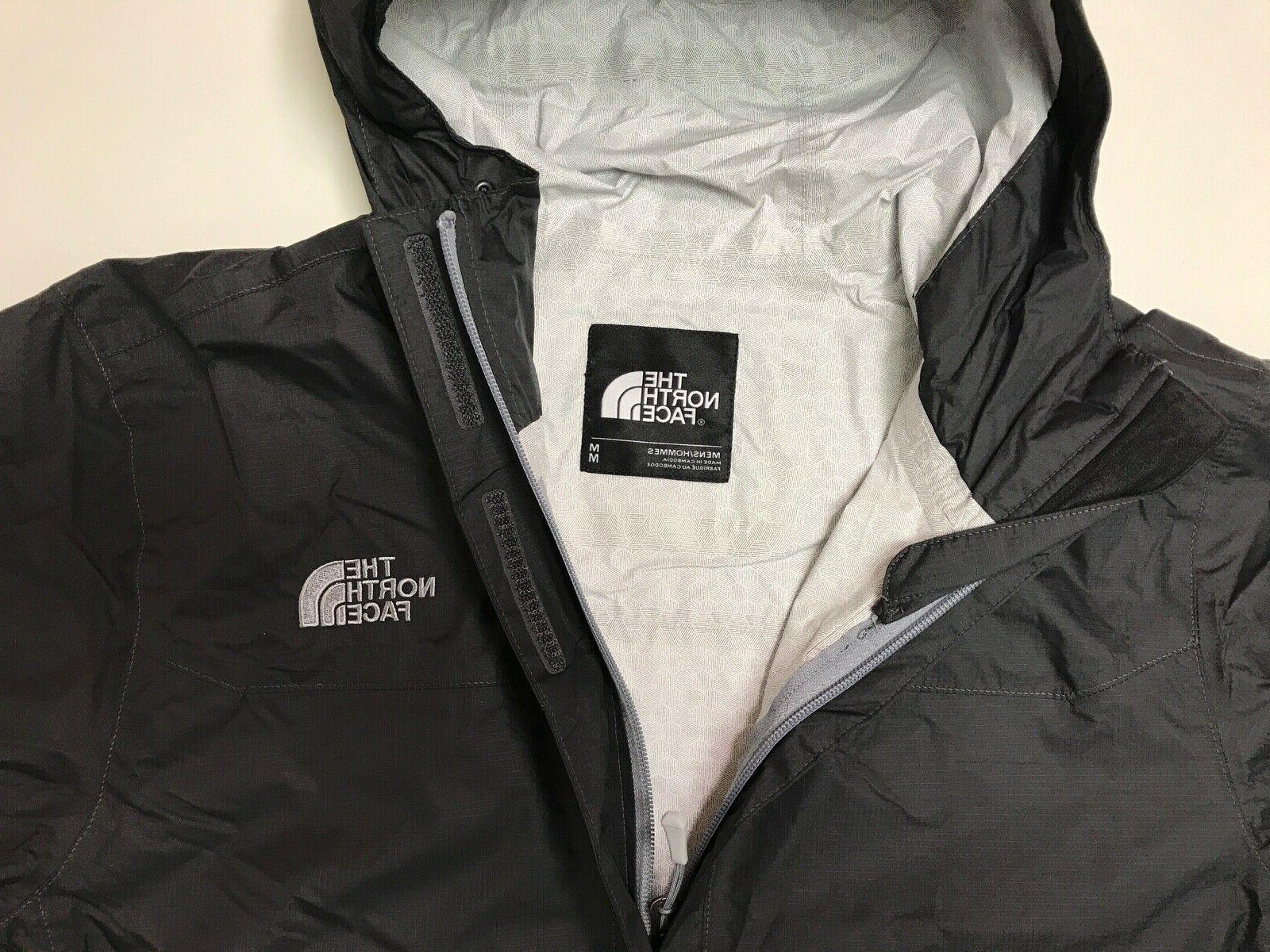 The Face Venture Waterproof Jacket Asphalt