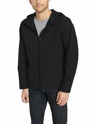 men s waterproof rain jacket black xx