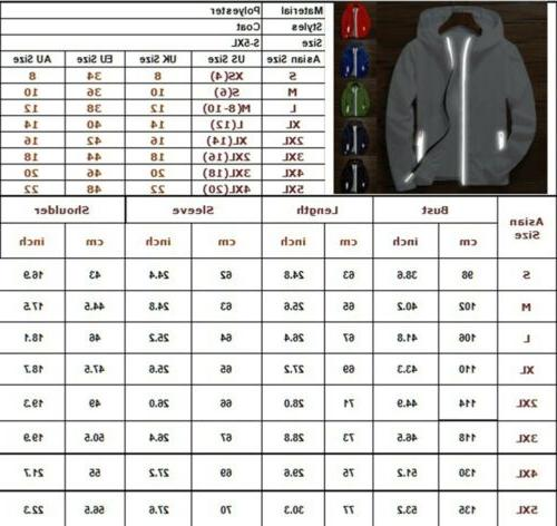 Men's Windbreaker Zipper Jacket Outwear Coat Gym