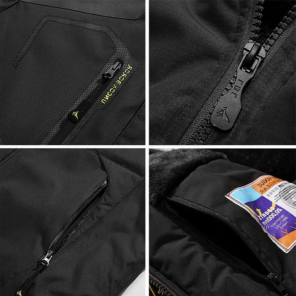 Men's Coat Fleece Warm Outerwear
