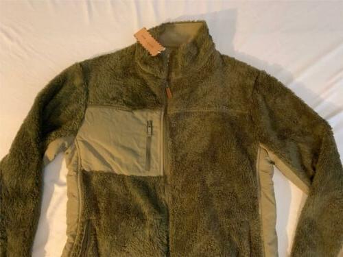 Buffalo Zip-Up Kodiak Fleece FR7 Green Large NWT $119.95