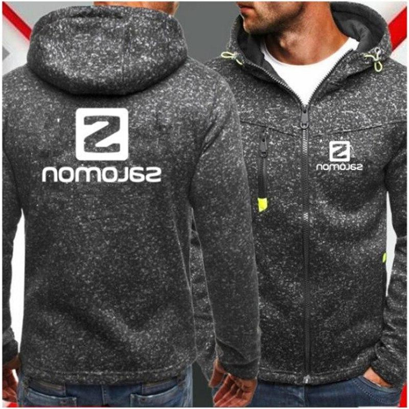 Men Zipper COPINE Fashion Jacquard Hoodies <font><b>Jacket</b></font> Winter