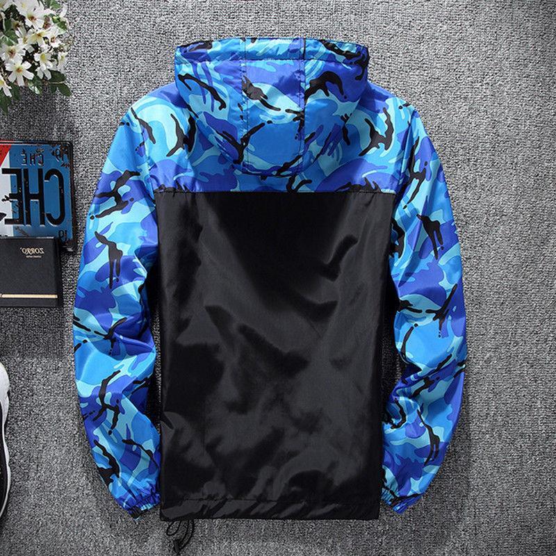 Men Waterproof Hoodie Jacket Outwear
