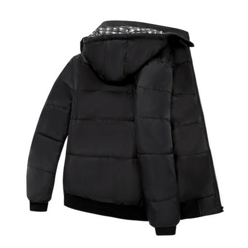 Men Ultralight Hooded Zipper Parka Outwear